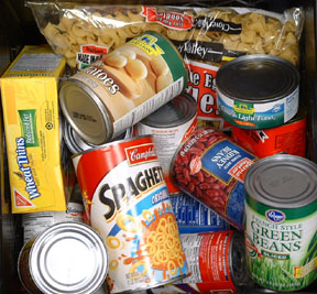 Upper Room Hospitality Ministry Canned Food Image